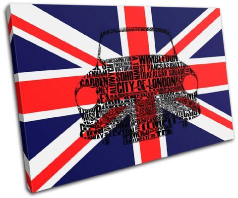 City London Union Jack Mini City - 13-6081(00B)-SG32-LO